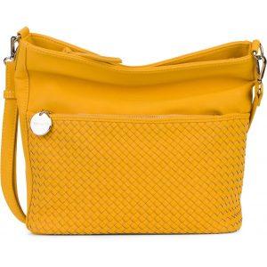 Dámská crossbody kabelka Tamaris Ambera – žlutá