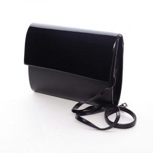 Střední dámské elegantní psaníčko černé matné – Delami SanDiego černá
