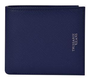 Trussardi Pánská peněženka Business City Wallet Coin Saffiano Ecoleather 71W00101-U280