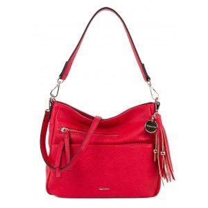 Dámská crossbody kabelka Tamaris Adale – červená