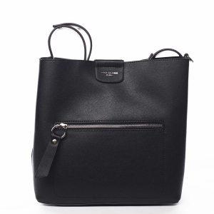 Dámská kabelka přes rameno černá – David Jones Salma černá
