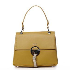 Dámská kabelka žlutá – David Jones Aminisha žlutá