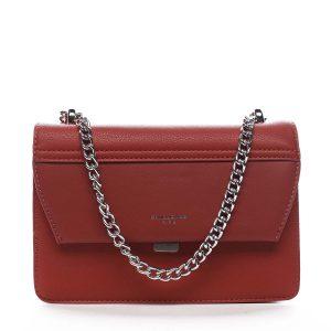Dámská crossbody kabelka červená – David Jones Delilah červená
