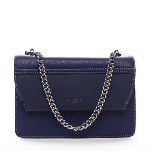 Dámská crossbody kabelka tmavě modrá – David Jones Delilah tmavě modrá
