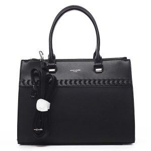 Dámská kabelka do ruky černá – David Jones Tosmal černá
