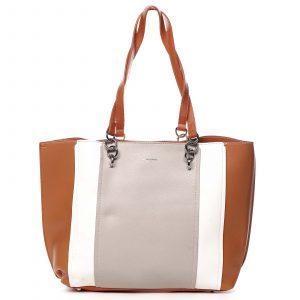 Dámská kabelka přes rameno oranžová – David Jones Reason oranžová