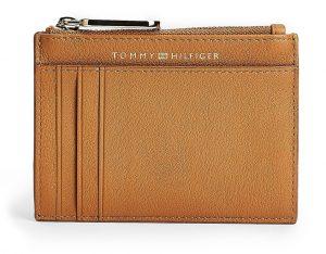 Tommy Hilfiger oříšková peněženka Soft Turnlock CC Holder