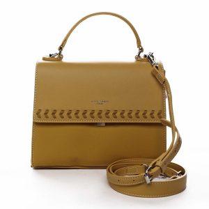 Dámská kabelka do ruky žlutá – David Jones Todeep žlutá