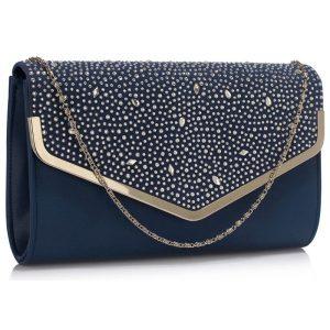 Dámské psaníčko LS Fashion Beth – modrá