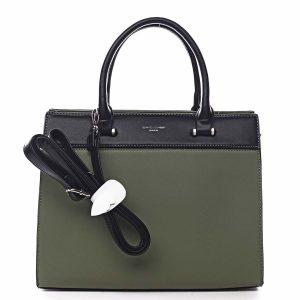 Dámská kabelka do ruky zelená – David Jones Tenerwa zelená