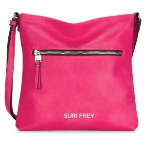 Dámské crossbody Suri Frey Terry – růžová