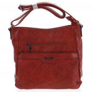 Dámská crossbody kabelka červená – Romina Africana červená