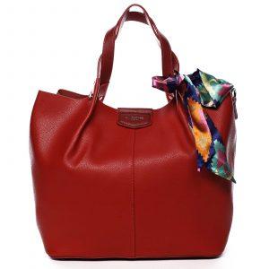 Dámská kabelka červená – David Jones MyWay červená
