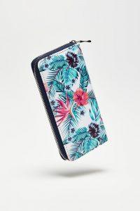 Moodo barevná peněženka s tropickými motivy
