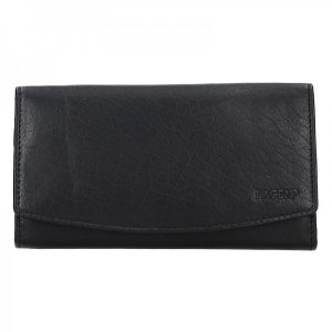 Dámská kožená peněženka Lagen Ninnas – černá