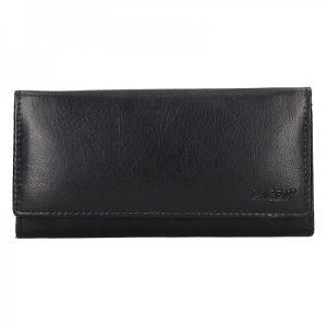 Dámská kožená peněženka Lagen Miala – černá