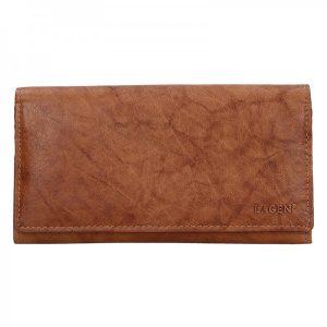 Dámská kožená peněženka Lagen Zinna – koňak