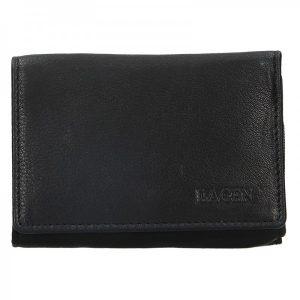 Dámská kožená peněženka Lagen Leonas – černá