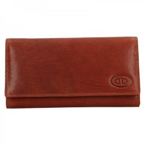 Dámská kožená peněženka DD Anekta Verona – hnědá