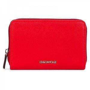 Dámská peněženka Emily & Noah Luci – červená