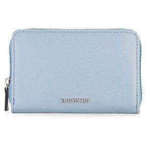 Dámská peněženka Emily & Noah Luci – modrá