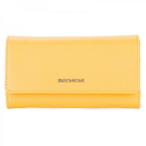 Dámská peněženka Emily & Noah Luca – žlutá