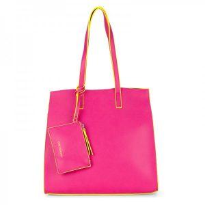 Dámská kabelka Emily & Noah Lina 3v1 – růžová