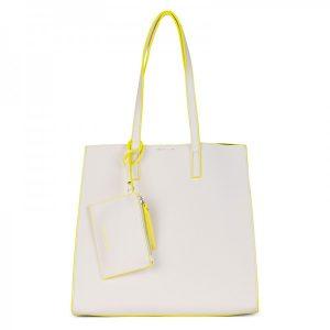 Dámská kabelka Emily & Noah Lina 3v1 – bílá