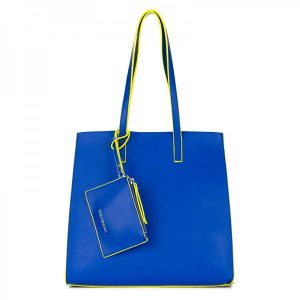 Dámská kabelka Emily & Noah Lina 3v1 – modrá