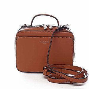 Dámská kabelka oranžová – David Jones Zara oranžová