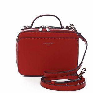 Dámská kabelka červená – David Jones Zara červená