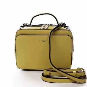 Dámská kabelka žlutá – David Jones Zara žlutá