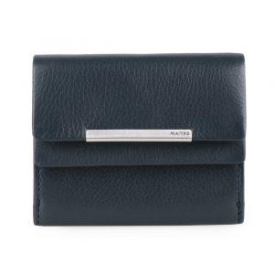 Maître Dámská kožená peněženka Belg Deda 4060001621 – tmavě modrá