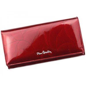 Dámská kožená peněženka Pierre Cardin Mielna – červená
