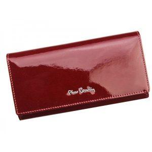 Dámská kožená peněženka Pierre Cardin Alenas – tmavě červená