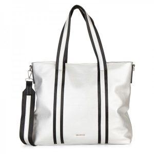 Dámská kabelka Emily & Noah Luna – stříbrná