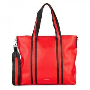 Dámská kabelka Emily & Noah Luna – červená
