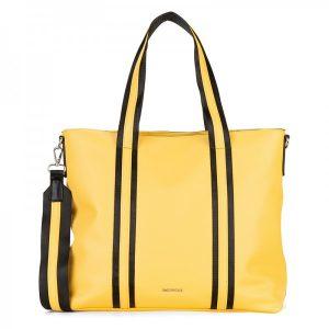 Dámská kabelka Emily & Noah Luna – žlutá