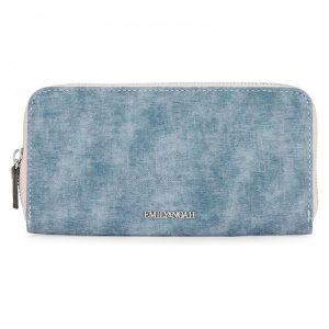 Dámská peněženka Emily & Noah Laura – modrá