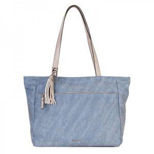 Dámská kabelka Emily & Noah Lora – modrá