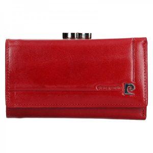 Dámská kožená peněženka Pierre Cardin Renata – červemá