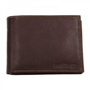 Pánská kožená peněženka SendiDesign 5601 (P) VT – hnědá