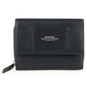 Maître Dámská kožená peněženka Ellern Diethilde 4060001606 – černá