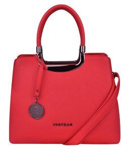 JustBag Dámská kabelka 3680 Red