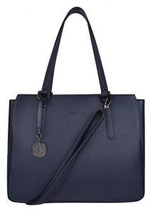 JustBag Dámská kabelka 3757 Dark Blue