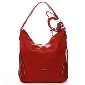 Dámská kabelka přes rameno červená – David Jones Rihanna červená