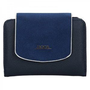Dámská peněženka Doca 64950 – modrá