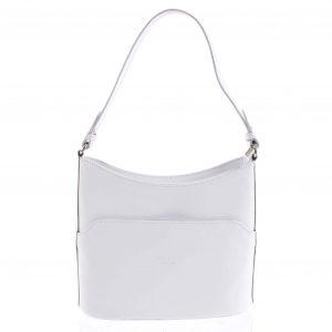 Bílá kožená kabelka přes rameno – ItalY Lydia bílá