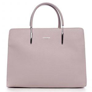 Dámská kabelka do ruky bledě růžová – David Jones Miracle růžová