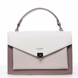 Dámská kabelka do ruky fialová – David Jones Holeruge fialová